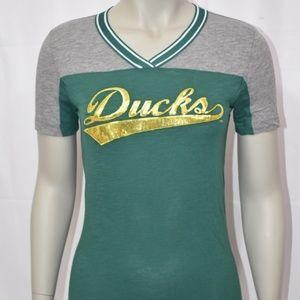 PINK University of Oregon Ducks Bling T-Shirt NWT